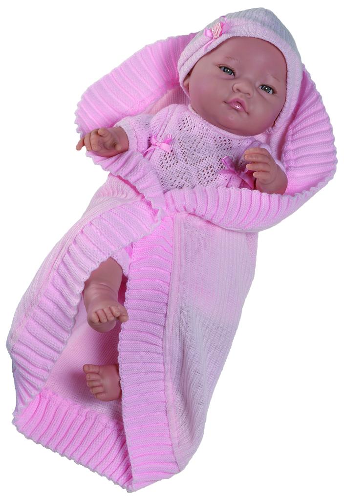 Кукла Бби в розовом, 45 см.Испанские куклы Paola Reina (Паола Рейна)<br>Кукла Бби в розовом, 45 см.<br>