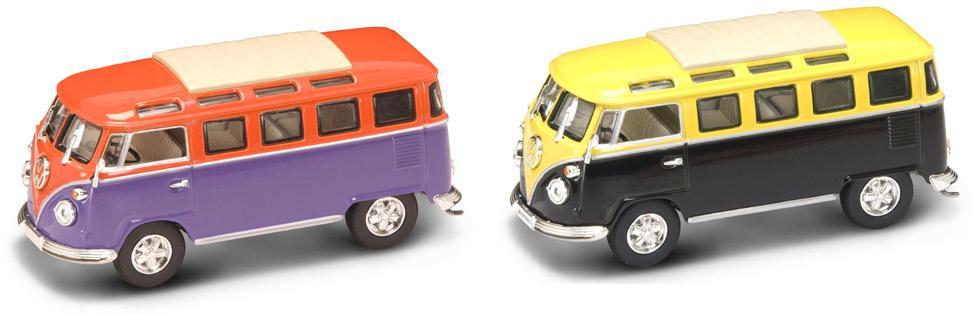 Коллекционный автомобиль - Фольксваген микроавтобус, образца 1962, масштаб 1/43 серия ПремиумVolkswagen<br>Коллекционный автомобиль - Фольксваген микроавтобус, образца 1962, масштаб 1/43 серия Премиум<br>