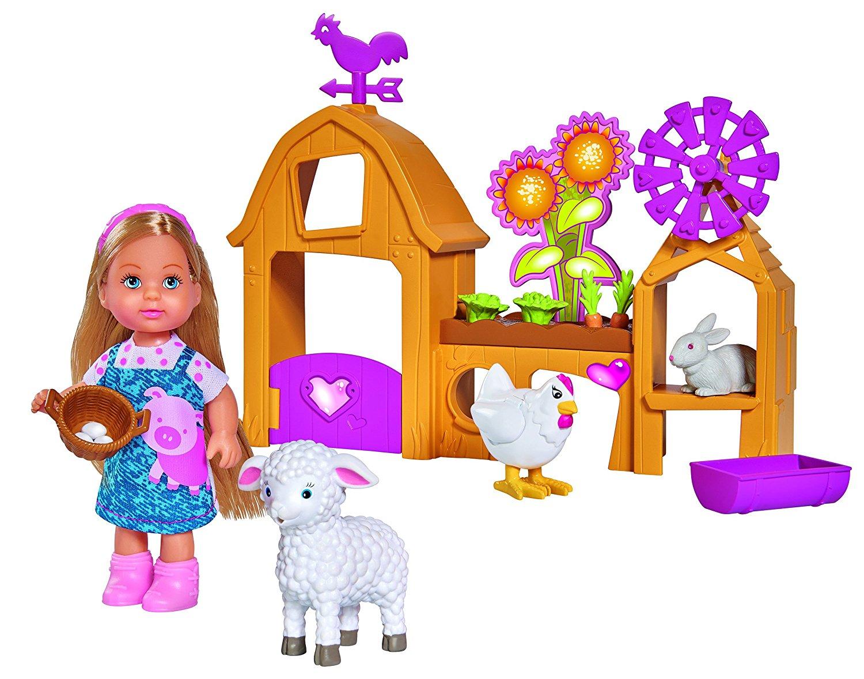 Набор Счастливая ферма с куклой ЕвиКуклы Еви<br>Набор Счастливая ферма с куклой Еви<br>