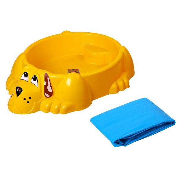 Детский бассейн с чехлом. СобачкаДетские надувные бассейны<br>Детский бассейн с чехлом. Собачка<br>