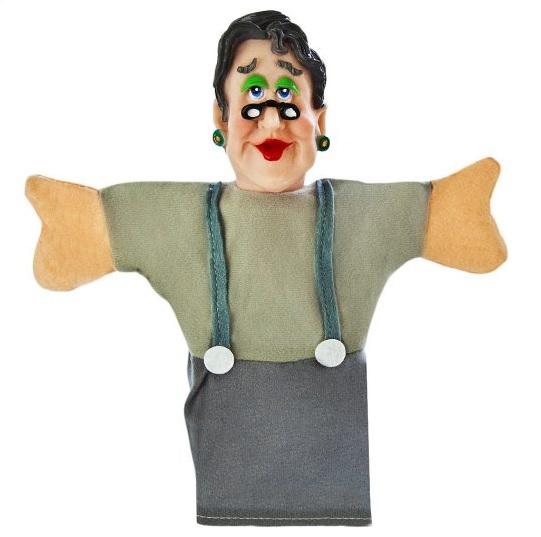 Купить со скидкой Кукла-перчатка для кукольного театра – Бабушка