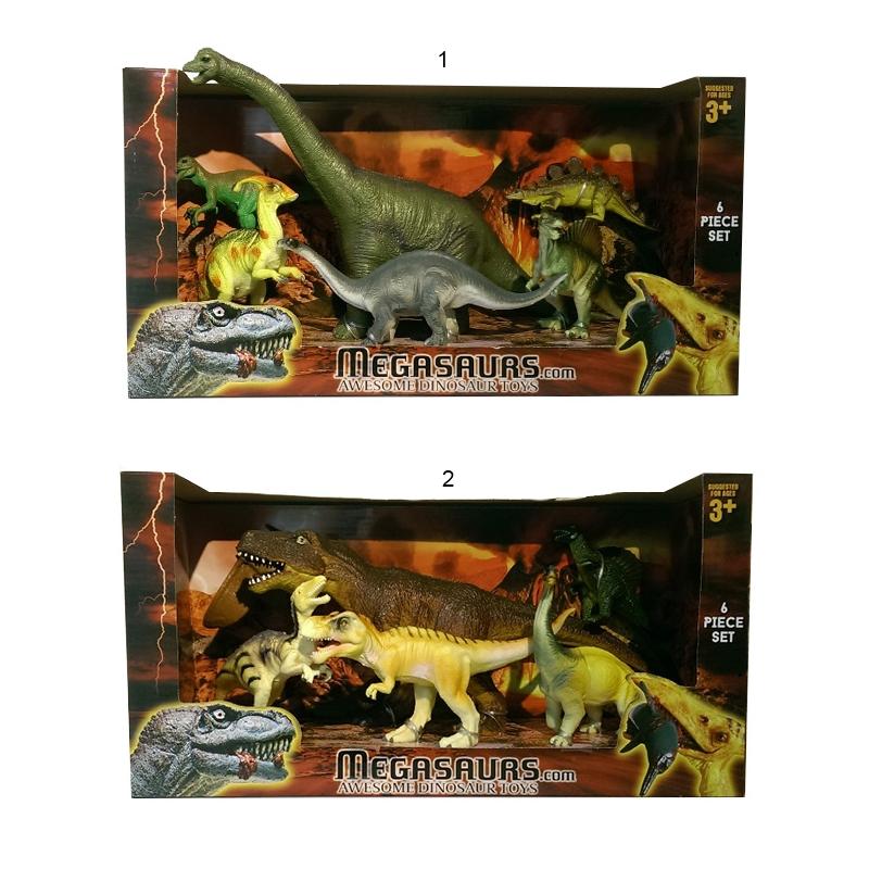 Игровой набор из 6 фигурок динозавровЖизнь динозавров (Prehistoric)<br>Игровой набор из 6 фигурок динозавров<br>