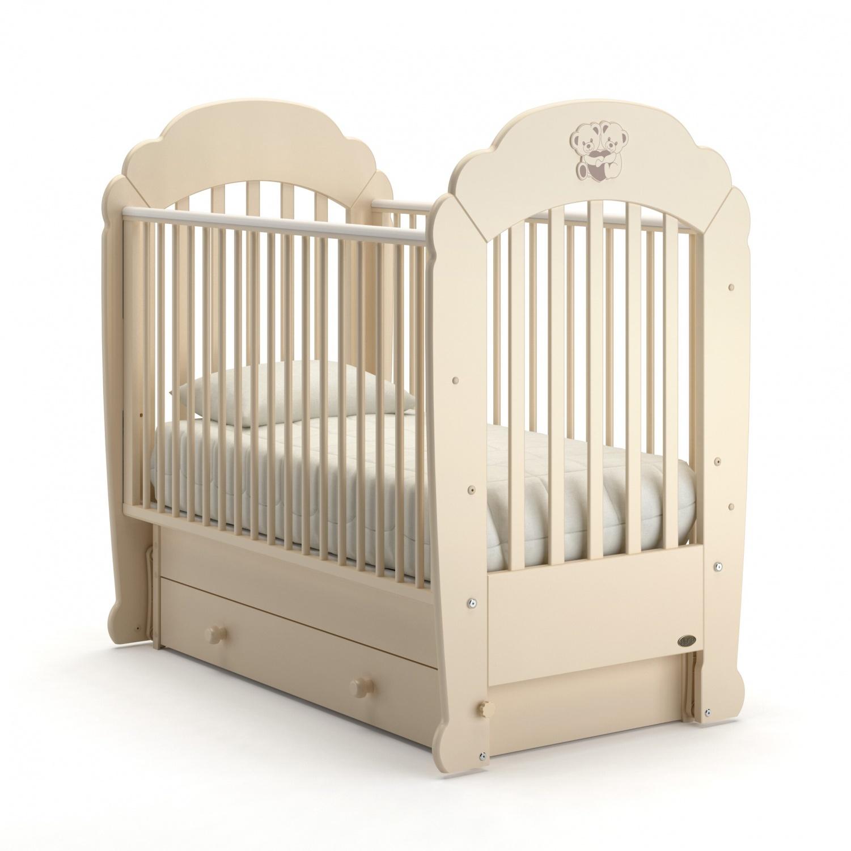 Купить Детская кровать Nuovita Parte swing поперечный, avorio/слоновая кость