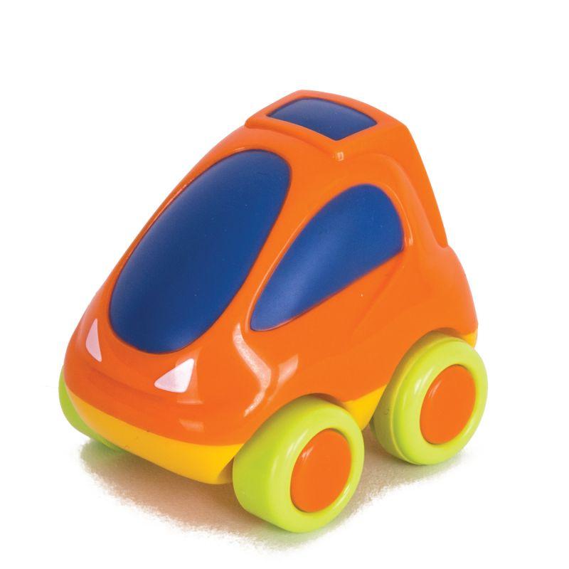 Оранжевая гоночная мини-машинкаМашинки для малышей<br>Оранжевая гоночная мини-машинка<br>