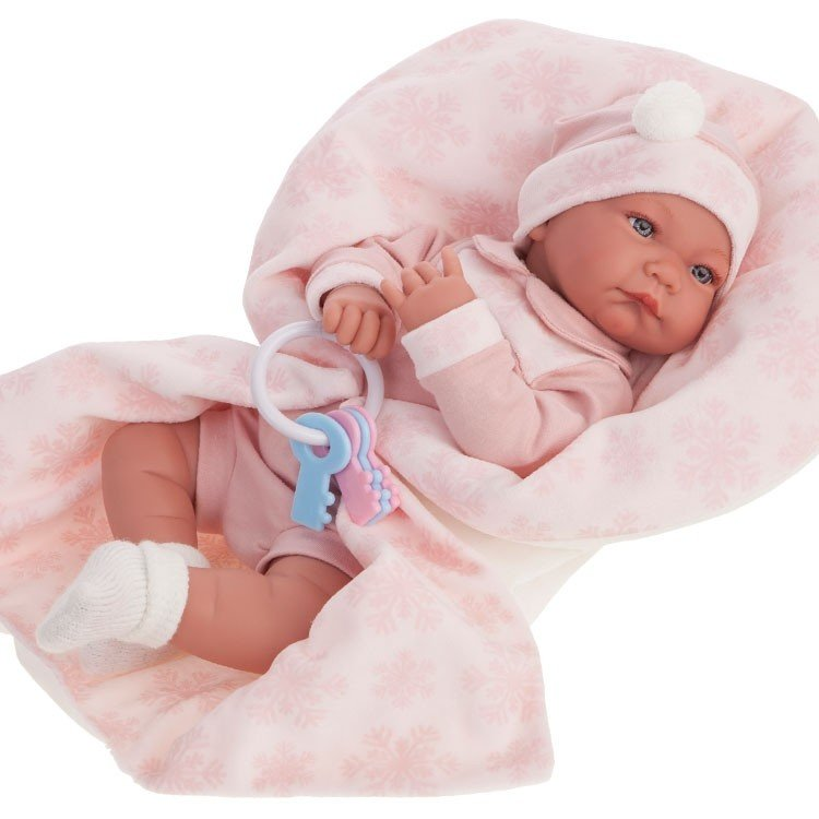 Кукла – Антония в розовом, 40 см