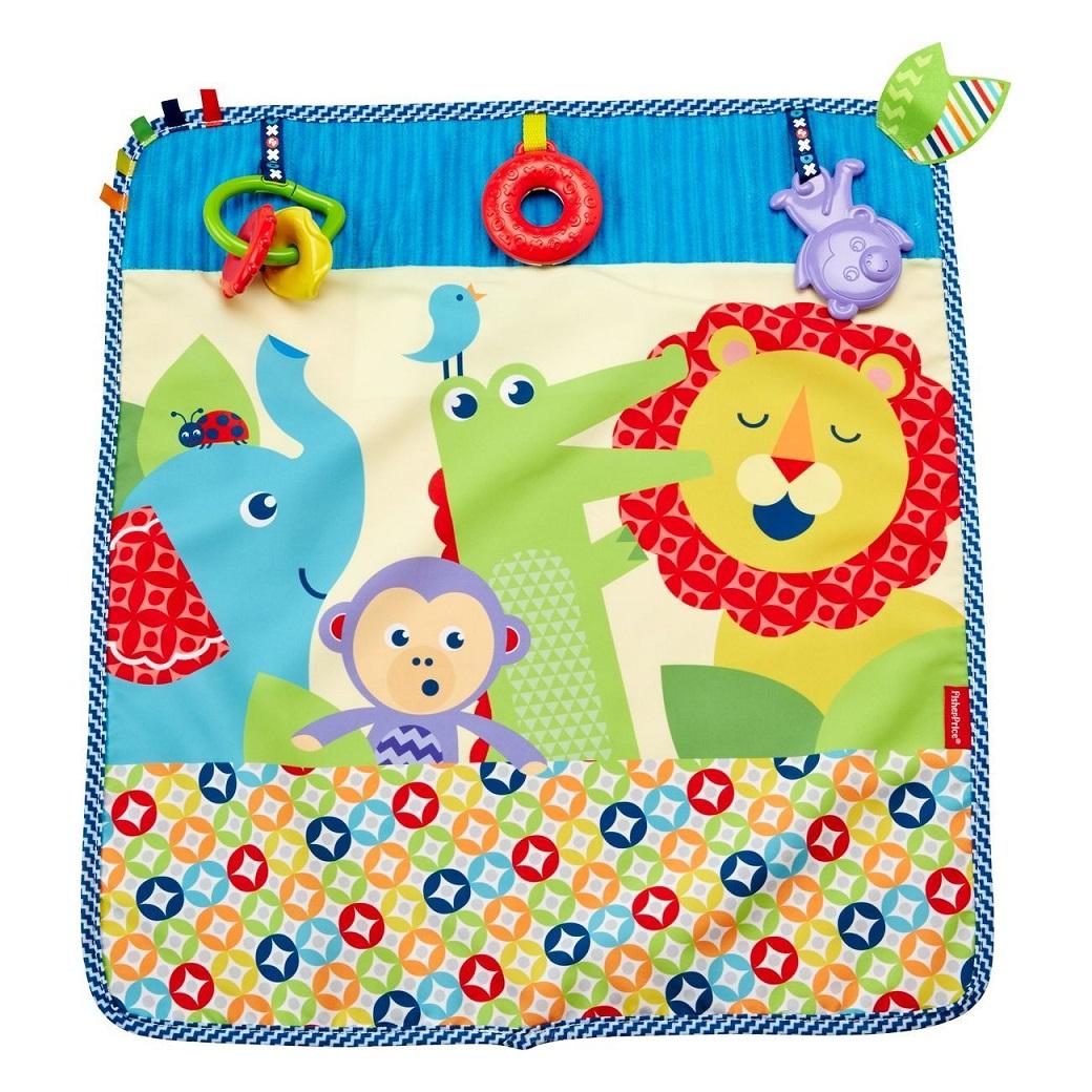 Мягкое одеяло - Пойдем на прогулкуРазвивающие игрушки Fisher-Price<br>Мягкое одеяло - Пойдем на прогулку<br>