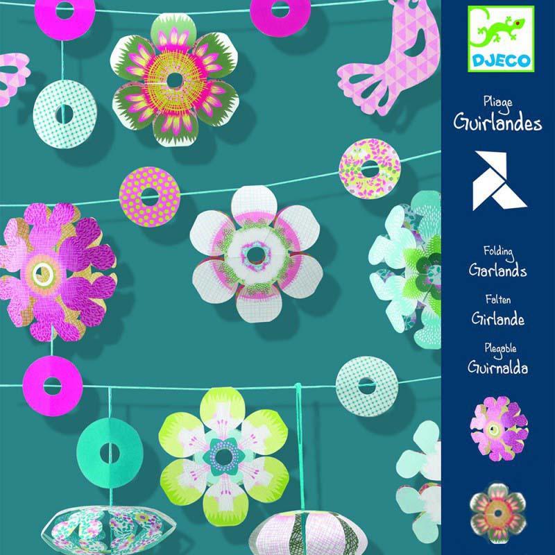 Купить Набор для творчества - Бумажные цветы, Djeco