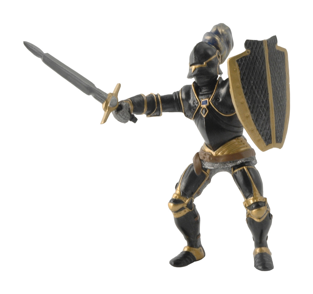 Фигурка Черный рыцарь в доспехахФигурки Papo<br>Фигурка Черный рыцарь в доспехах<br>