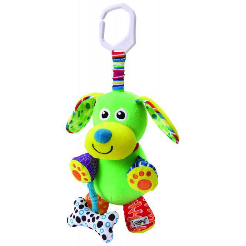 Подвесная игрушка – Забавный щенокРазвивающая дуга. Игрушки на коляску и кроватку<br>Подвесная игрушка – Забавный щенок<br>