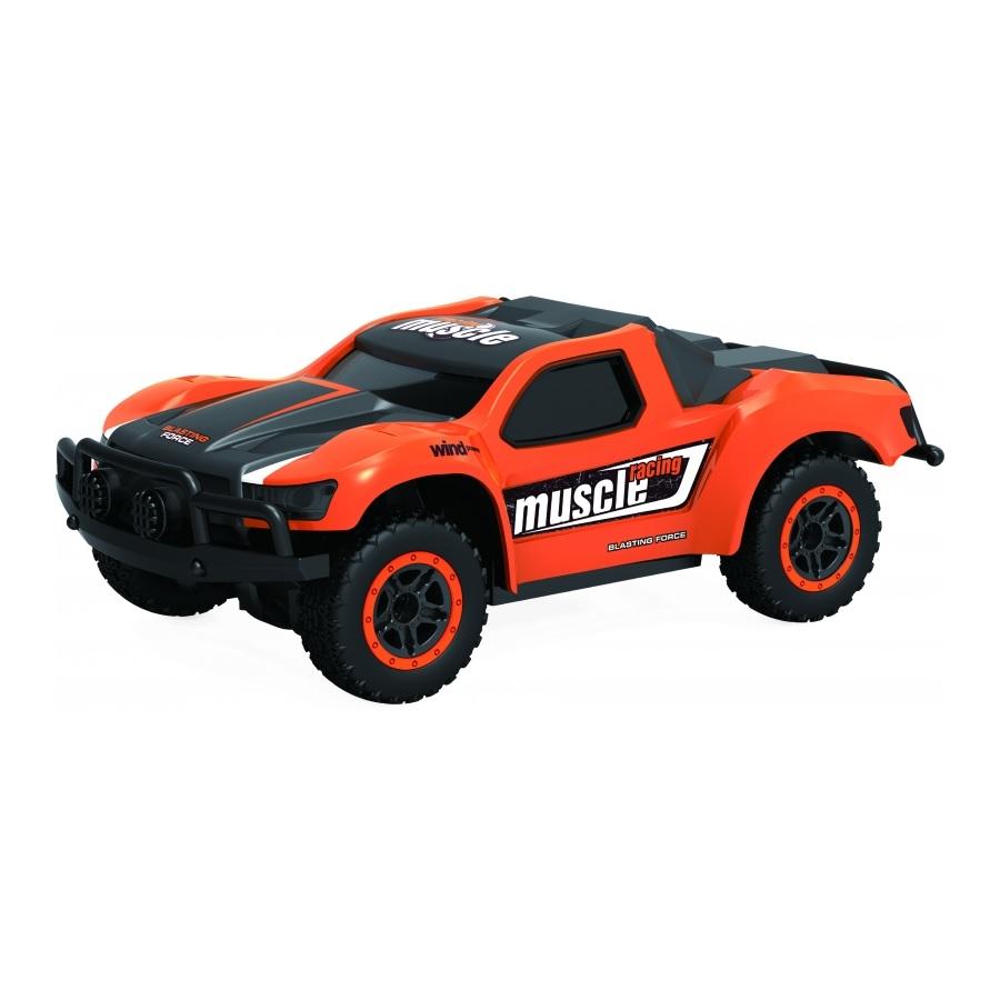 картинка Машина на р/у - Драйв раллийная на аккумуляторе, 4WD, масштаб 1:43, скорость 14 км/ч, цвет оранжевый от магазина Bebikam.ru