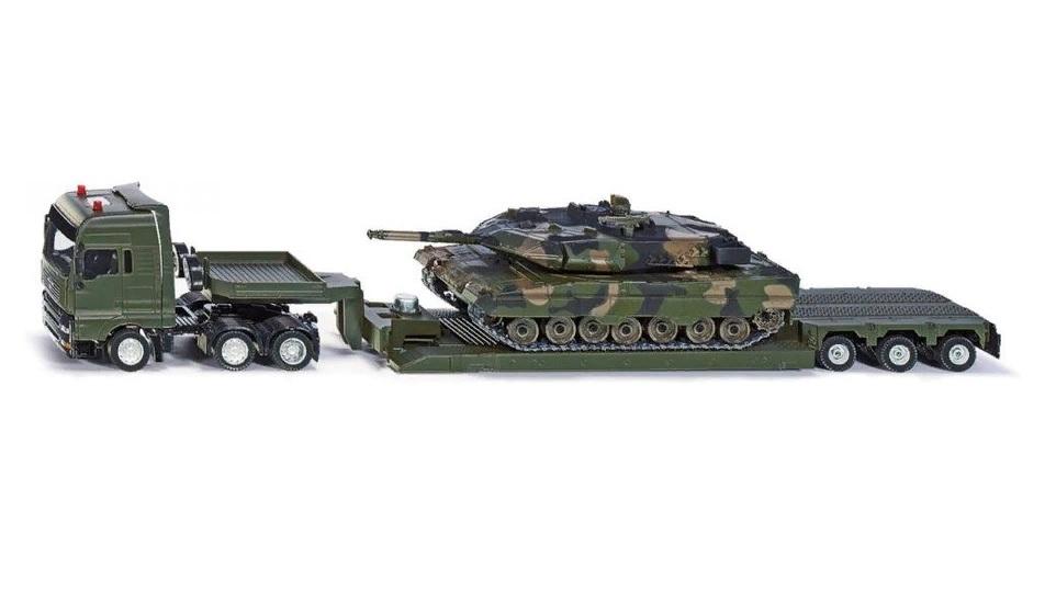 Купить Модель - Тягач с танком, Siku