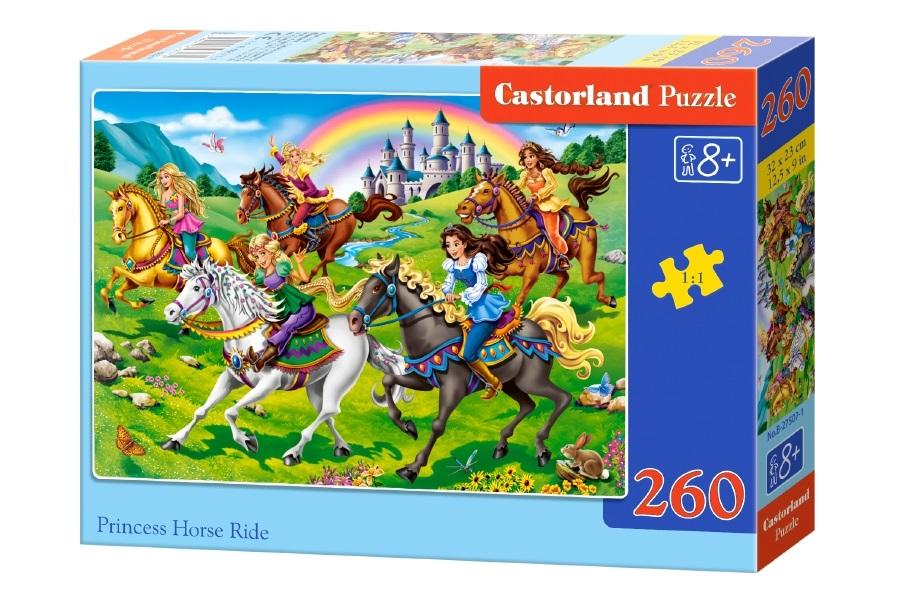 Купить Пазл - Конная прогулка, 260 элементов, Castorland