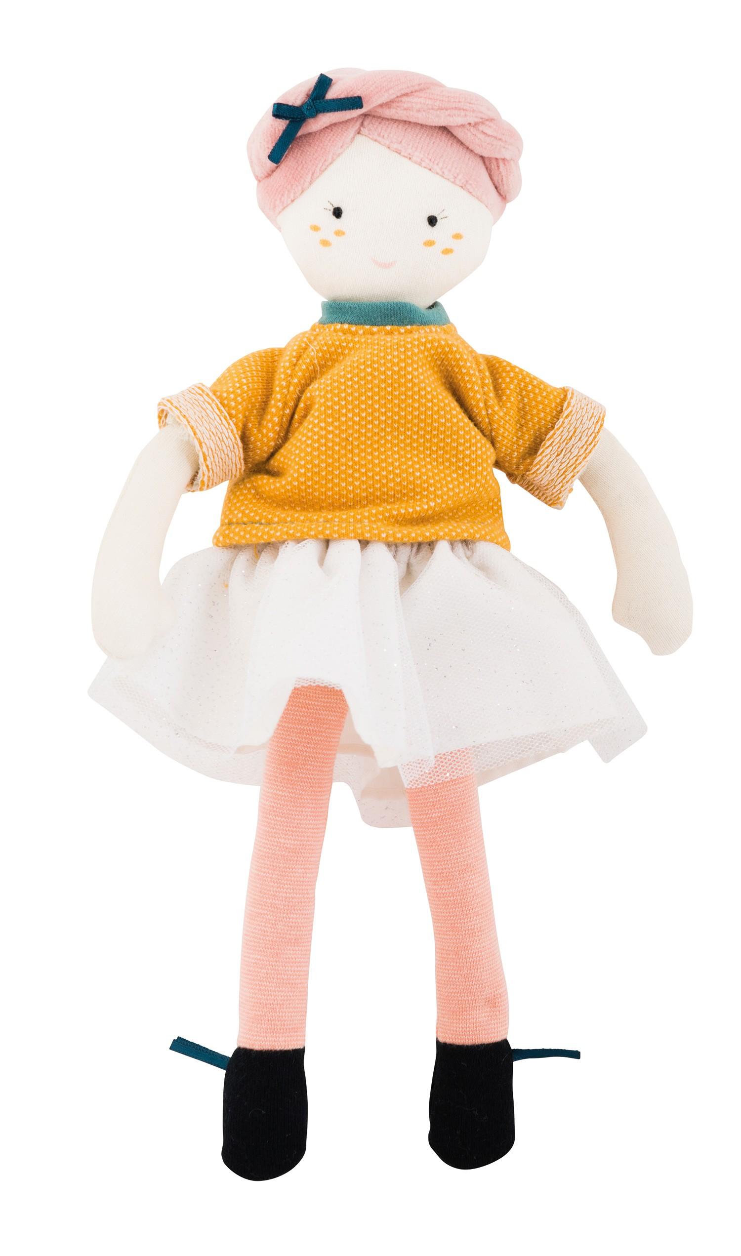 Мягкая кукла - Мадмуазель Элоиза фото