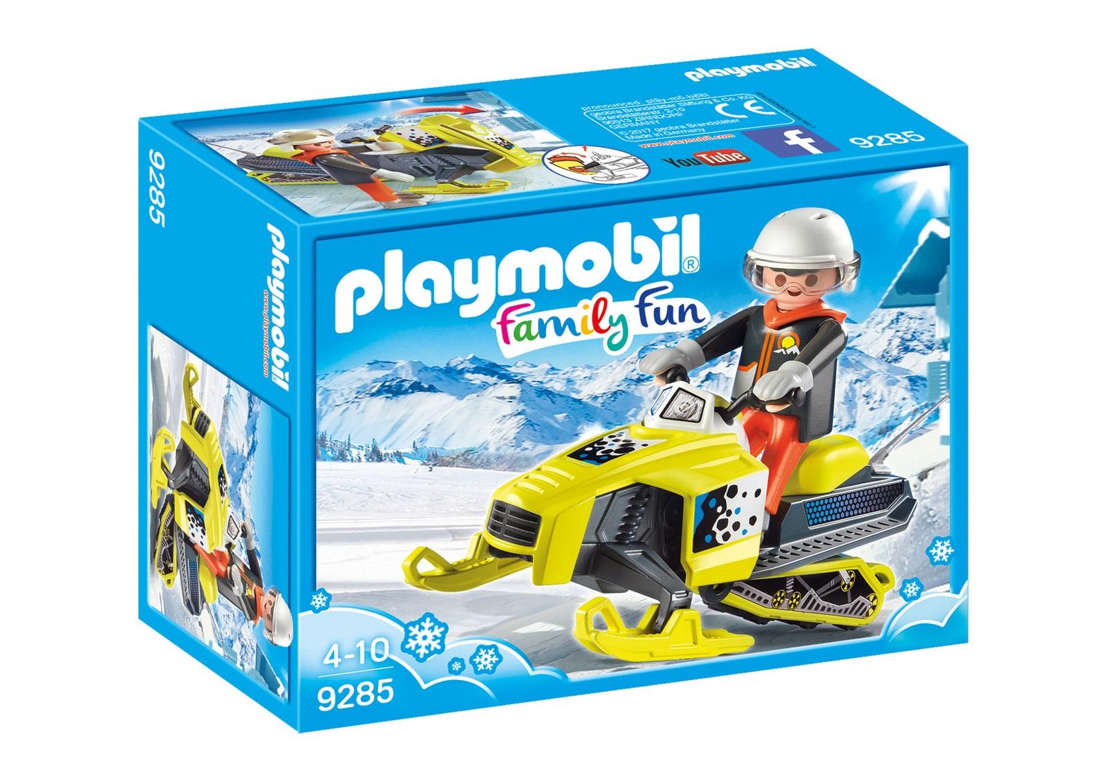 Купить Игровой набор из серии Зимние виды спорта - Сноумобиль, Playmobil