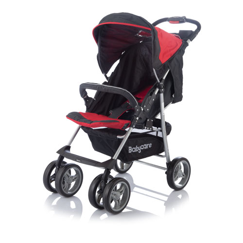 Коляска прогулочная Voyager, redДетские коляски Capella Jetem, Baby Care<br>Коляска прогулочная Voyager, red<br>