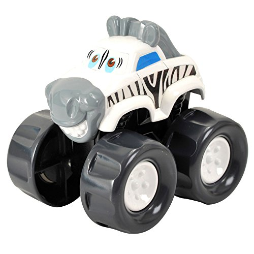 Машинка-зебра от Toyway