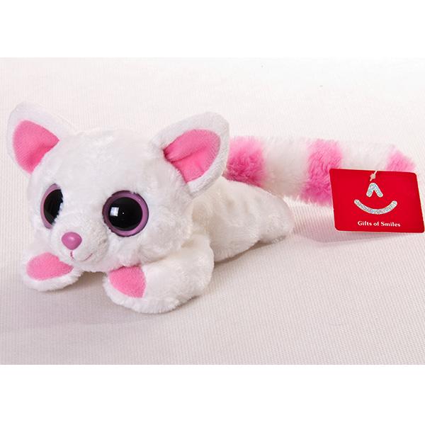 Мягкая игрушка лисица Памми лежачая из серии Юху и друзья, 16 см. - Юху и Друзья, артикул: 146651