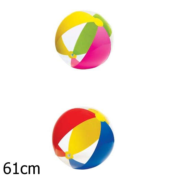 Мяч надувной – Цветные дольки, 61 см.Надувные животные, круги и матрацы<br>Мяч надувной – Цветные дольки, 61 см.<br>