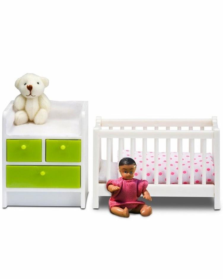Купить Мебель для домика Смоланд - Детская для младенца, Lundby