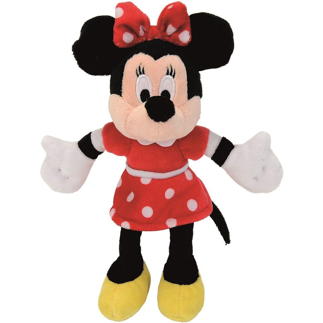 Мягкая игрушка - Минни Маус, 20 см.Мягкие игрушки Disney<br>Мягкая игрушка - Минни Маус, 20 см.<br>