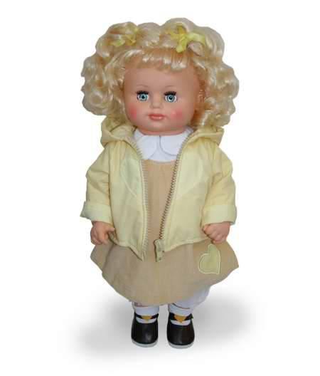Кукла Соня 1 со встроенным звуковым устройством, 43 смРусские куклы фабрики Весна<br>Кукла Соня 1 со встроенным звуковым устройством, 43 см<br>
