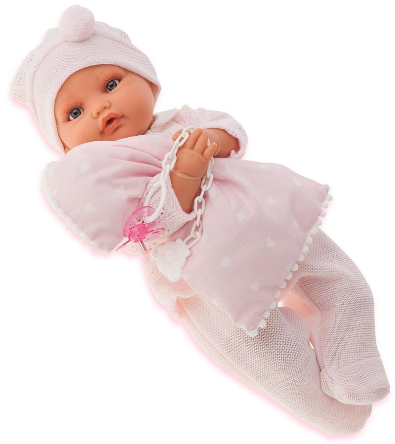 Кукла Марита в розовом, 42 см, плачетКуклы Антонио Хуан (Antonio Juan Munecas)<br>Кукла Марита в розовом, 42 см, плачет<br>