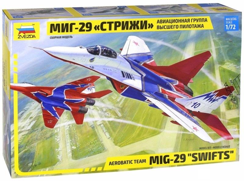 Модель сборная - Самолет МИГ-29, авиагруппа СтрижиМодели самолетов для склеивания<br>Модель сборная - Самолет МИГ-29, авиагруппа Стрижи<br>