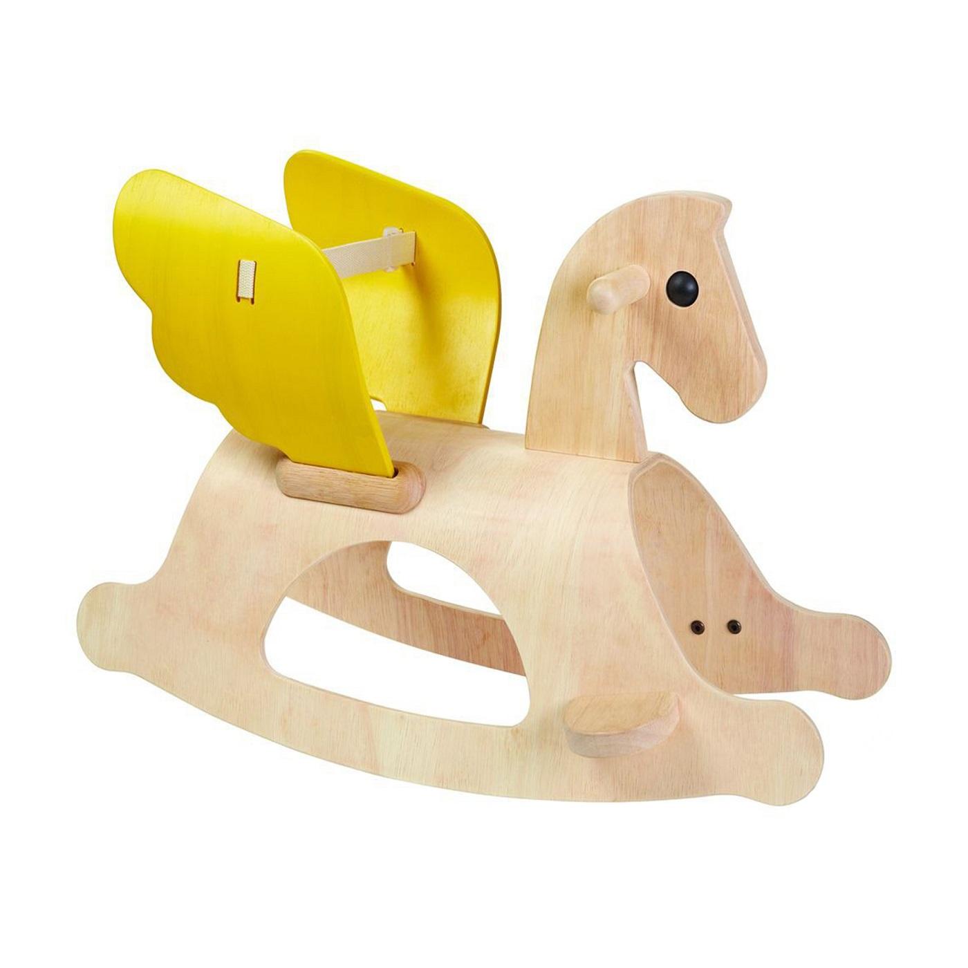 Купить Качалка - Лошадка Пегас, деревянная, Plan Toys