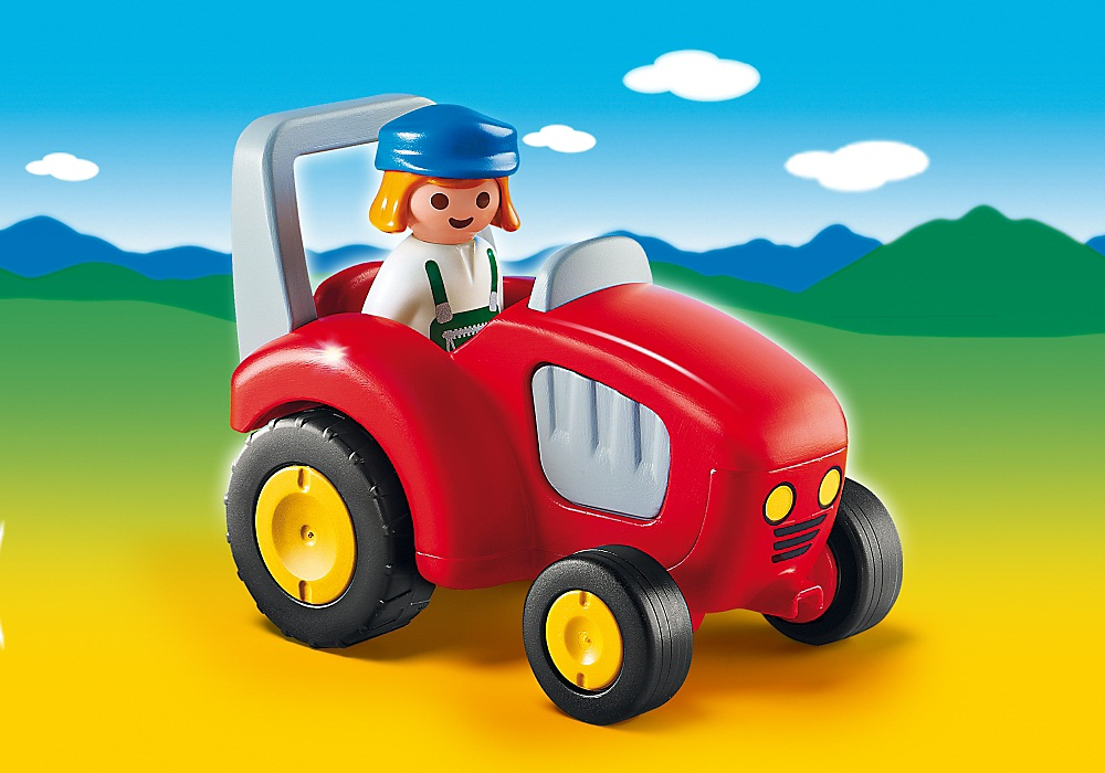 Игровой набор - 1.2.3 - Трактор от Toyway