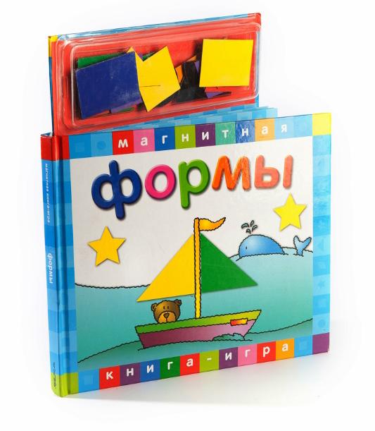 Книга с магнитными страницами - Формы от Toyway