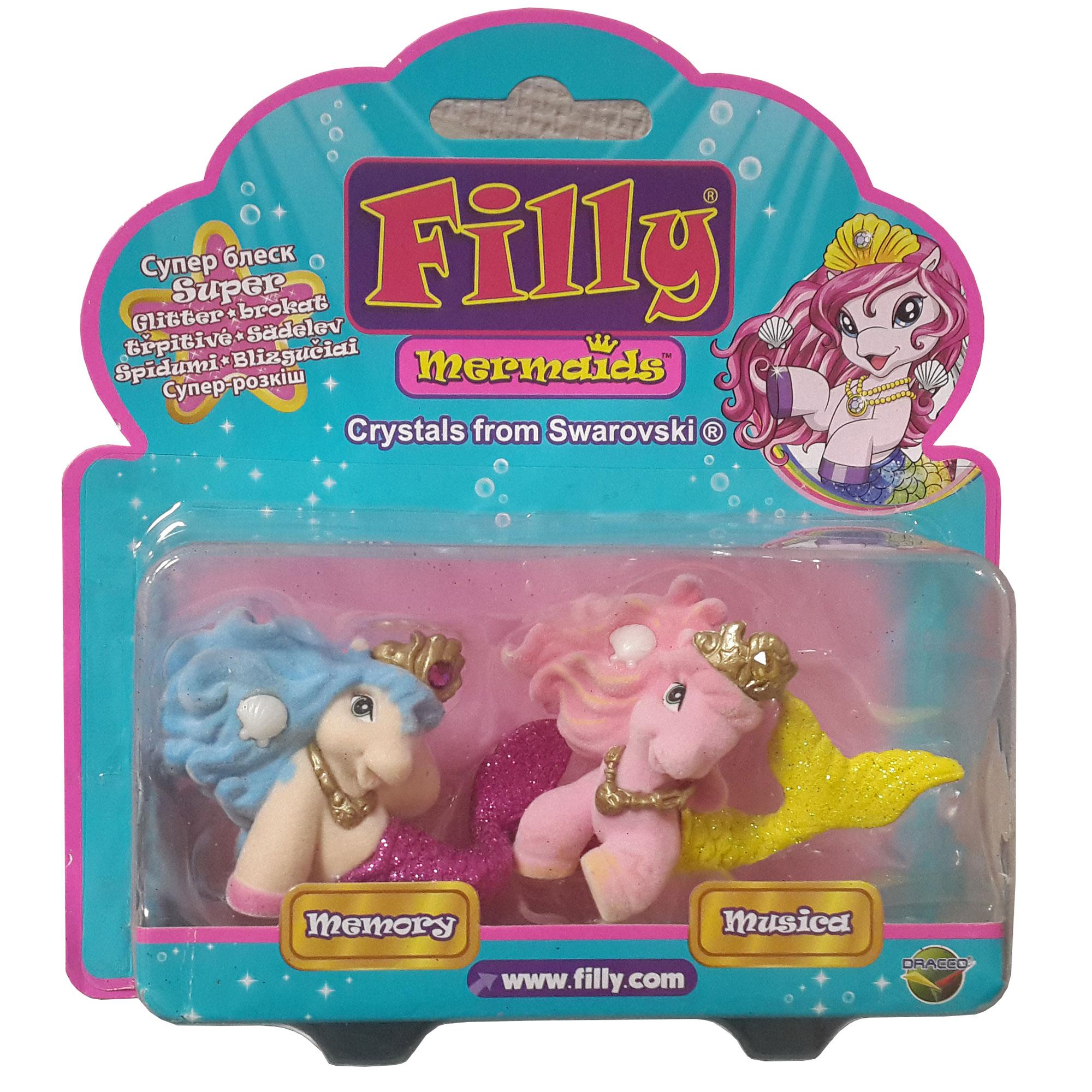 Набор Filly Русалочки  Лучшие друзья - Лошадки Филли Filly Princess, артикул: 142864