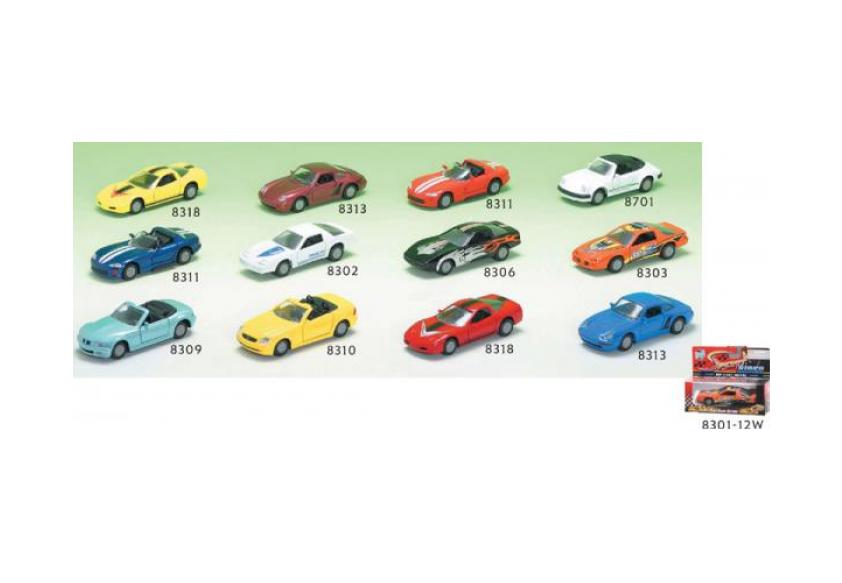 Инерционный легковой автомобиль, 12 видовГоночные машины<br>Инерционный легковой автомобиль, 12 видов<br>