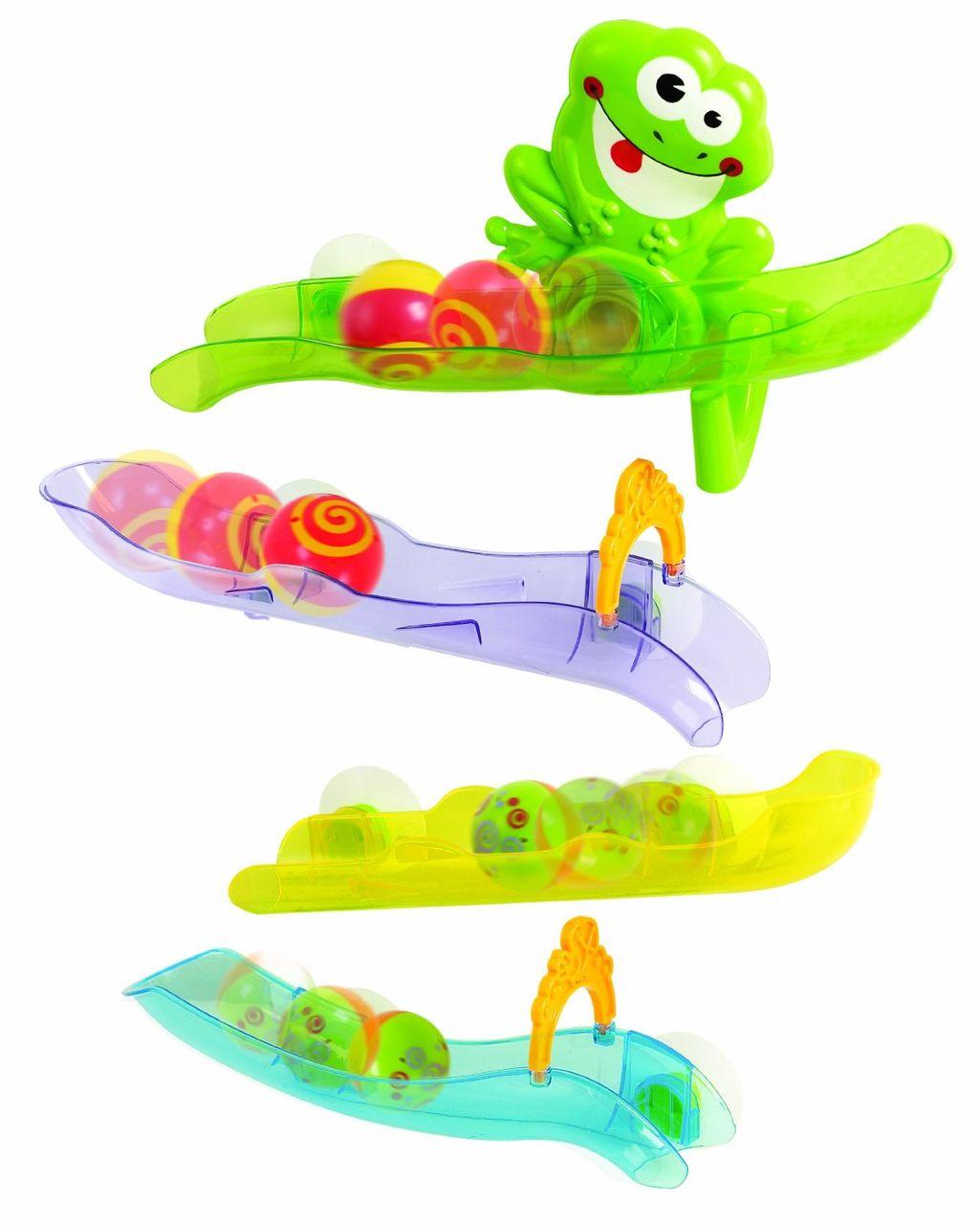 Игрушка развивающая для ванной - Лягушка в аквапаркеИгрушки для ванной<br>Игрушка развивающая для ванной - Лягушка в аквапарке<br>