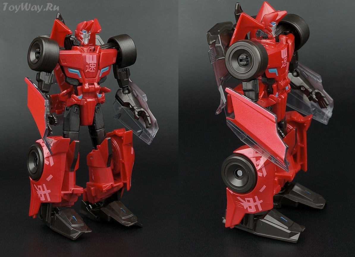Robots in Disguise. Трансформер Sideswipe