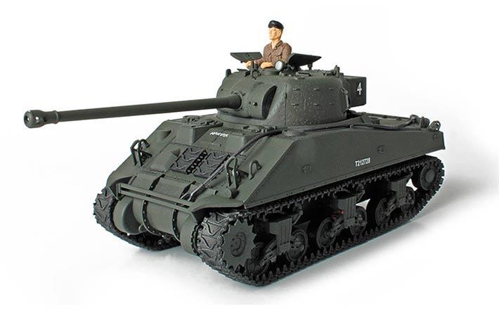 Коллекционная модель – британский танк Sherman Firefly, Нормандия 1944 год, 1:32Военная техника<br>Коллекционная модель – британский танк Sherman Firefly, Нормандия 1944 год, 1:32<br>