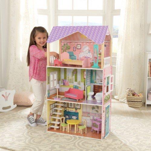 Купить Кукольный дом с мебелью - Поппи, 11 предметов, KidKraft