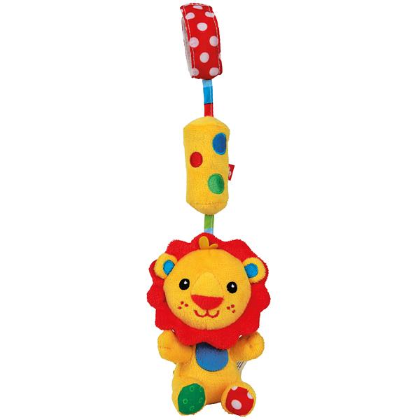 Погремушка-колокольчик ЛьвенокДетские погремушки и подвесные игрушки на кроватку<br>Погремушка-колокольчик Львенок<br>