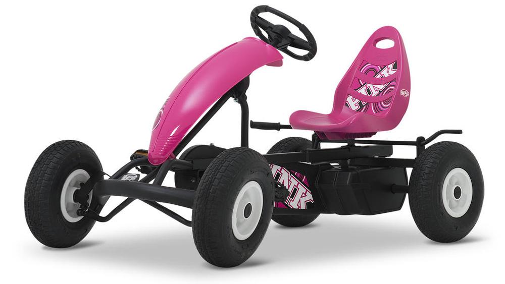 Веломобиль  Compact Pink - Веломобили BERG, артикул: 160950