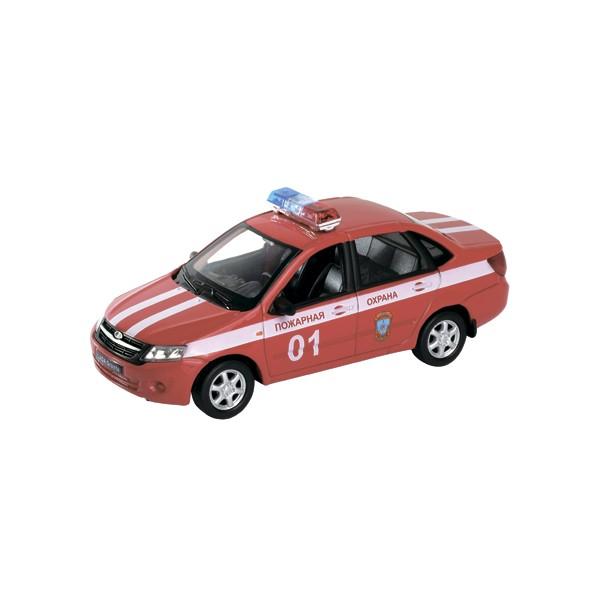 Модель машины 1:34-39 Lada Granta Пожарная ОхранаLADA<br>Модель машины 1:34-39 Lada Granta Пожарная Охрана<br>