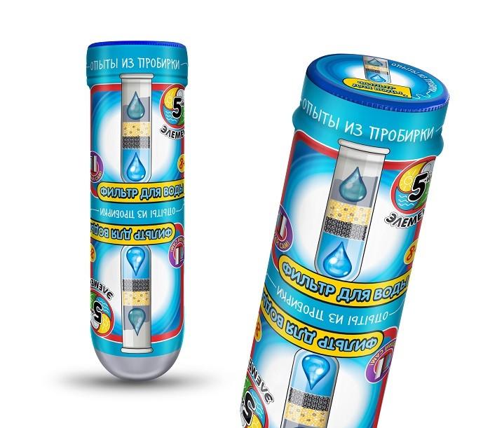 Купить Набор для экспериментов из серии Опыты из пробирки - Фильтр для воды, Дельта