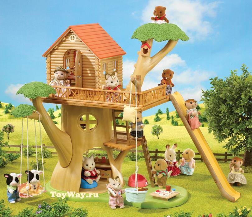 Дерево-дом для Sylvanian FamiliesДома и Рестораны<br>Дерево-дом для Sylvanian Families<br>