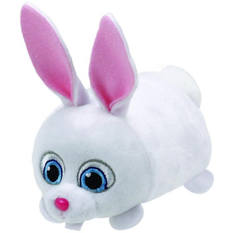 Мягкая игрушка - Кролик СнежокЗайцы и кролики<br>Мягкая игрушка - Кролик Снежок<br>