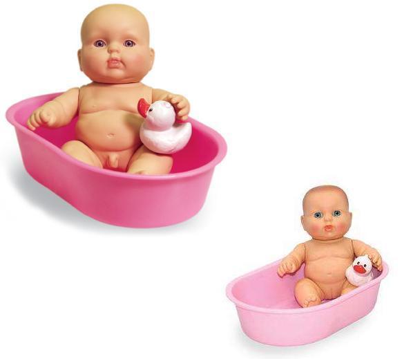 Кукла Карапуз в ванночке мальчик, 20смРусские куклы фабрики Весна<br>Кукла Карапуз в ванночке мальчик, 20см<br>