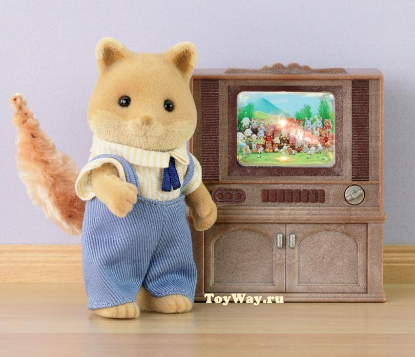 Набор  Цветной телевизор Deluxe  - Игрушки Sylvanian Families, артикул: 5616