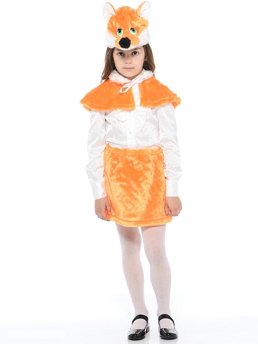 Костюм карнавальный детский – Лиса, мех, размер 28Карнавальные костюмы<br>Костюм карнавальный детский – Лиса, мех, размер 28<br>