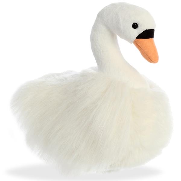 Купить Мягкая игрушка – Лебедь, 25 см, Aurora