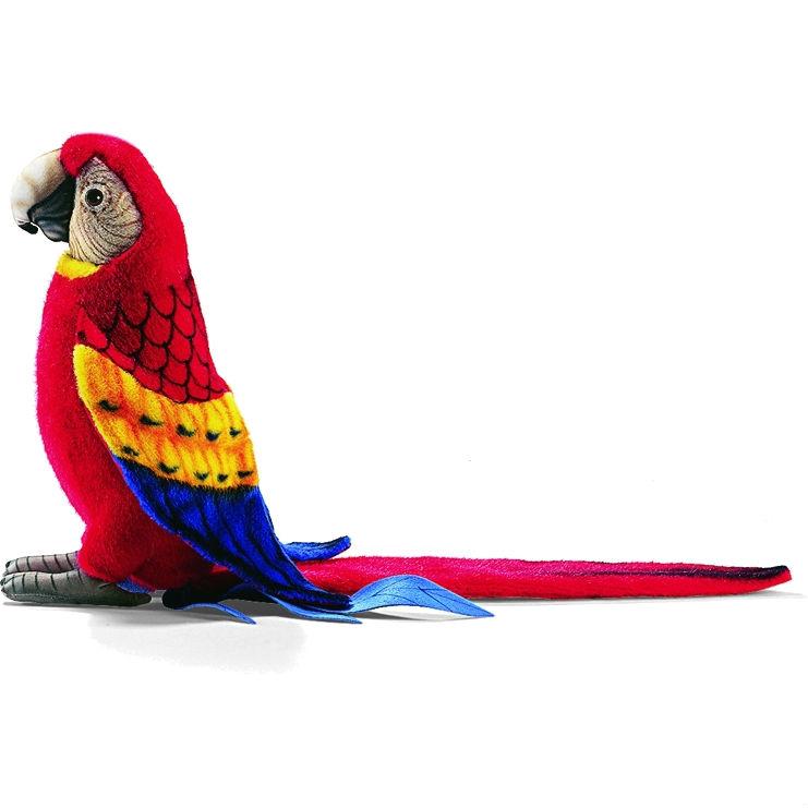 Мягкая игрушка - Попугай Ара красный, 72 см.Большие игрушки (от 50 см)<br>Мягкая игрушка - Попугай Ара красный, 72 см.<br>