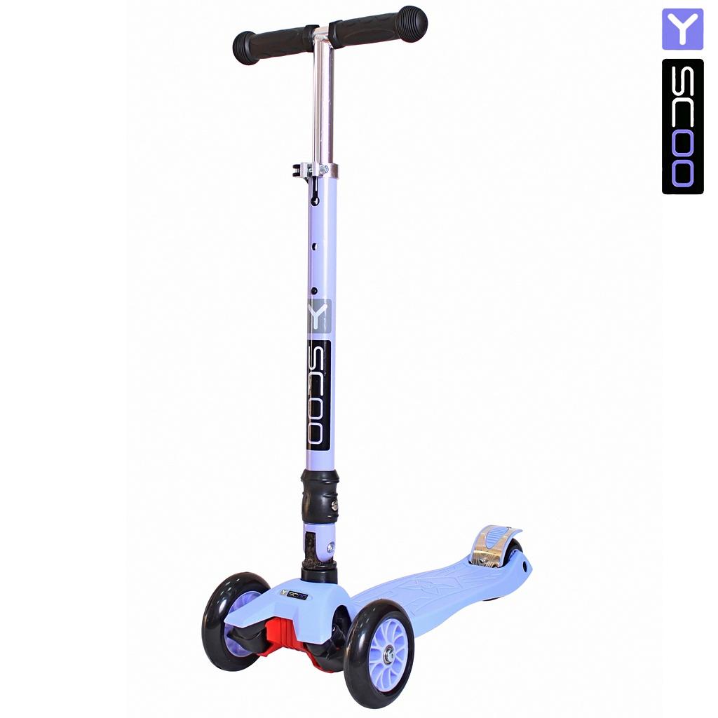 Самокат Y-Scoo 35 Maxi Fix Simple, фиолетовый  - купить со скидкой