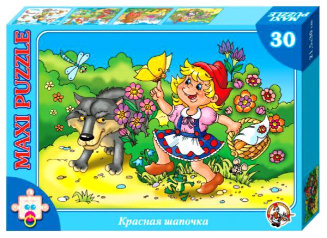 картинка Макси-пазл «Красная шапочка» от магазина Bebikam.ru