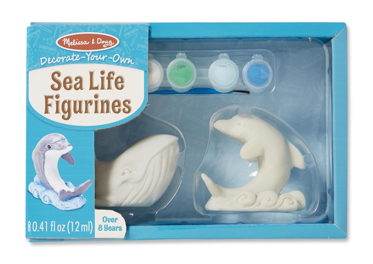 Набор для творчества «Раскрась морских животных»Роспись по керамике и камню<br>Набор для творчества «Раскрась морских животных»<br>